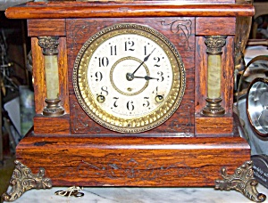 Antique Seth Thomas windup mantle clock, circa late 1800's (Image1)