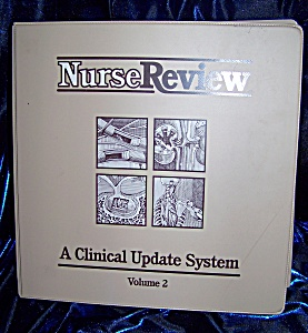 NurseReview Vol. 2. hardback spiral bound medical book. (Image1)
