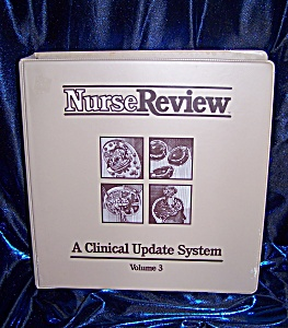 NurseReview Vol. 3. hardback spiral bound medical book. (Image1)