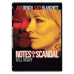 Notes On A Scandal. Dvd