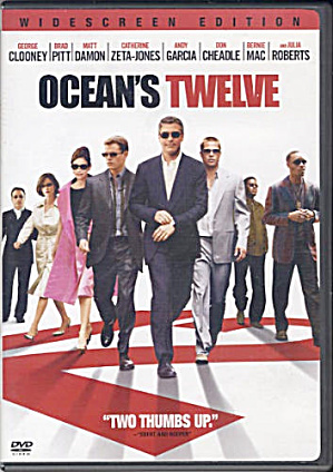 Ocean's Twelve. DVD movie w/ George Clooney, Brad Pitt, Matt Damon (Image1)