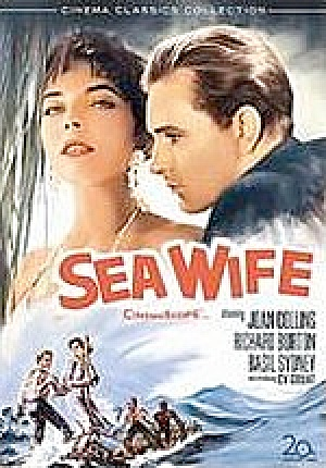Sea Wife. Dvd. W/ Joan Collins, Richard Burton.