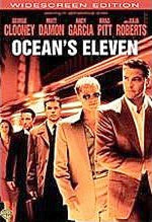 Ocean's Eleven DVD. Widescreen ed. George Clooney, Matt Damon. (Image1)