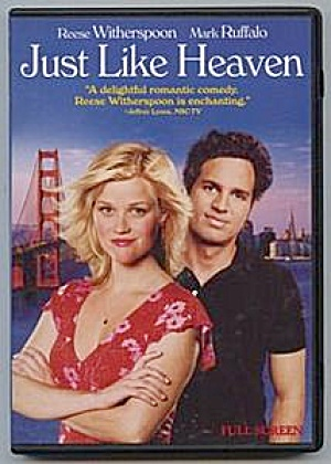 Just Like Heaven Dvd. Reese Witherspoon, Mark Ruffalo.