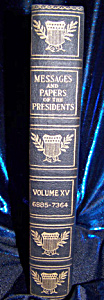 Messages and Papers of the Presidents Vol. XV (Image1)
