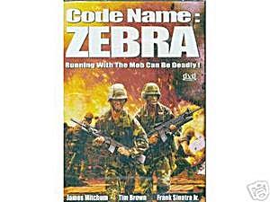 Code Name: Zebra. DVD. w/ Frank Sinatra Jr. (Image1)