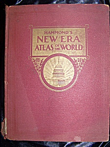 Hammond's New Era Atlas Of The World 1946