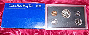 United States Proof Set 1969