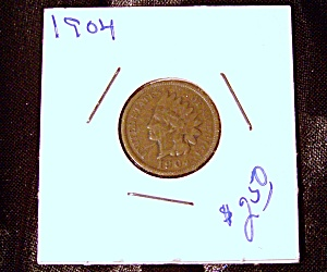 Indian head penny 1904 (Image1)
