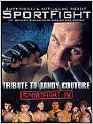 Sportfight Vol XV Tribute to Randy Couture. DvD (Image1)