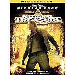 Nicolas Cage. National Treasure. Widescreen. DVD (Image1)