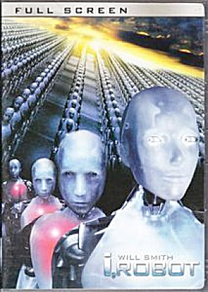 Will Smith I, Robot. DVD  Full screen. (Image1)