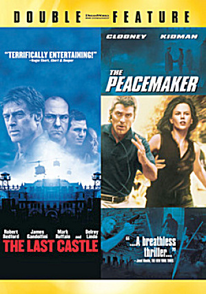 The Last Castle/the Peacemaker. Double Feature. Dvd.