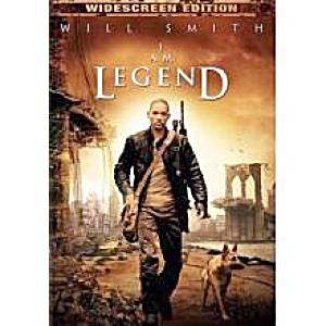 I am Legend. Widescreen edition dvd. Will Smith. (Image1)