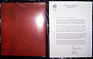George Washington Folio from United States Mint sealed archives. (Image1)