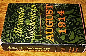 August 1914, by Alexander Solzhenitsyn. 1972 HC (Image1)