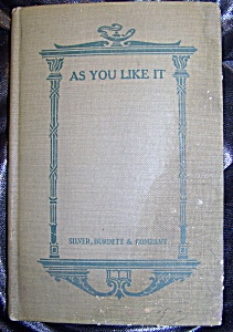 Shakespeare's As You Like It, 1917 edition (Image1)