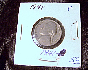 Jefferson Nickel 1941 F (Image1)