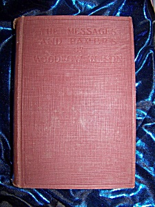Messages and Papers of Woodrow Wilson Vol. 1  1924 HC (Image1)