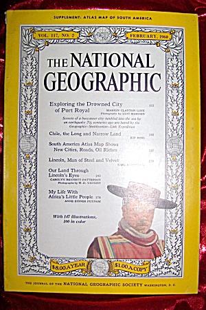 National Geographic Feburary 1960. (Image1)