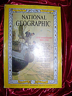 National Geographic january 1963, 75th anniversary. (Image1)