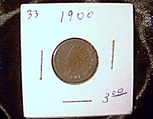 Indian Head Penny 1900 (Image1)