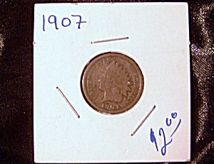 Indian Head Penny 1907 (Image1)