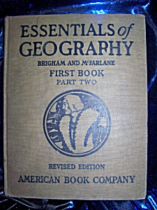 Essentials of Geography First Book Part Two 1925 HC (Image1)