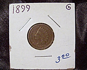 Indian Head Penny 1899 G (Image1)