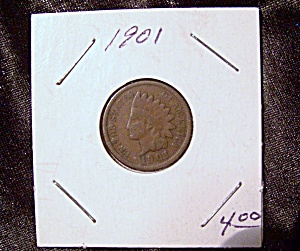 Indian Head Penny 1901 (Image1)