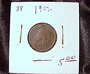 Indian Head Penny 1902 (Image1)