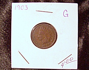 Indian Head Penny 1903 G (Image1)