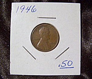 Lincoln Penny 1946 (Image1)