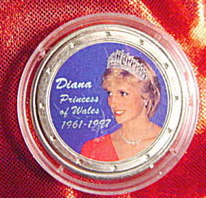Princess Diana 1961 1997 Commemorative Silver Coin Coins