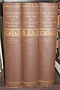 The Decline And Fall Of The Roman Empire In 3 Volumes