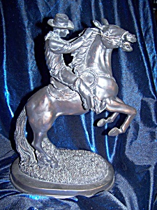 Sculpt of Cowboy and Rider. (Image1)