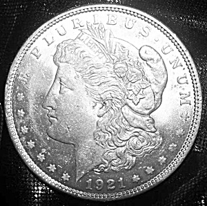 Morgan Silver Dollar 1921