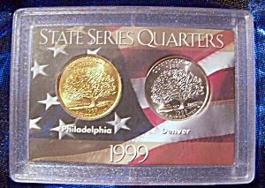 State Series Quarters 1999-P, 1999-D Connecticut (Image1)