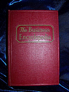 The Business Encyclopedia 1940 Hc