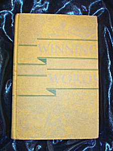 Winning Words Second Edition 1963 Hc By Henry I Christ.