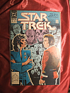 STAR TREK (1989) #6 Comic book (Image1)