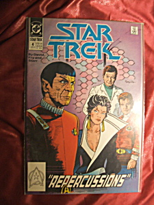 STAR TREK #4 REPERCUSSIONS JAN 1990 COMIC BOOK (Image1)