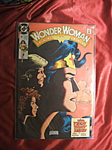 Wonder Woman Issue 41 1990 comic book. (Image1)