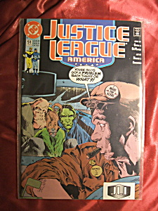 Justice League Of America: Issue #51 Comic Book