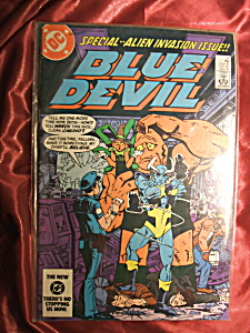 Blue Devil Issue #6 DC Comics Nov 84 (Image1)