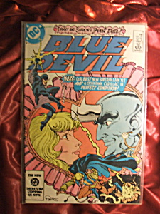 Blue Devil Issue #7 Dec 1984 comic book. (Image1)