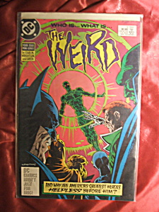 The Weird. Issue # 1 Apr 1988 Comic Book.