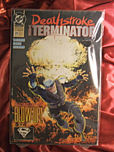 Deathstroke: The Terminator Issue #20 Comic Book.