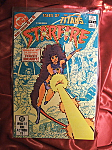 Starfire #4 Tales Of The New Teen Titans. Comic Book.