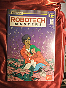 Robotech Masters Issue #21 (1985) Comic Book.